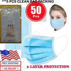 10/30/ 50 /100 Pcs Face Mask Mouth & Nose Protector Respirator Masks  Filter