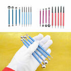9pcs Ball Stylus Dotting Tools Clay Pottery Modeling Carving Rock Painting Kit image
