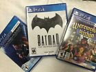 Ps4 games assorted new (sealed)