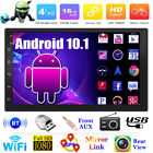 "2Din 7"" Android 10.1 Quad Core Car Stereo MP5 Player GPS Nav WiFi FM Radio  Cam"