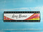 Personalised 15cm ruler - School Company Office - 6 colours - Rainbow Design