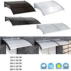 Door Canopy Awning Shelter Porch Roof Rain Cover Outdoor Garden Patio Colours UK
