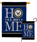 US Navy Home Garden Flag Armed Forces Small Decorative Gift Yard House Banner