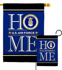 US Air Force Home Garden Flag Armed Forces Small Decorative Gift House Banner