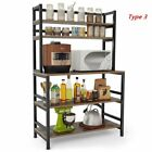 FixedPriceindustrial microwave oven stand free standing kitchen bakers rack storage shelf