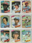 1980 to 2020 Topps Los Angeles Dodgers Team Sets  Pick Your Year on Ebay