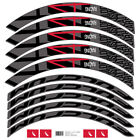 Two Wheel Sticker set for Fulcrum Racing 4DB R4 Road Bike Carbon Cycling Decal