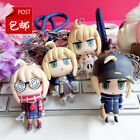 Anime Fate/Grand Order Saber Super Cute Doll Toy Keychains Itabag Pendants