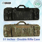 "Savior Equipment Multicam® Urban Warfare 51"" - Double Rifle Case 2 Colors"