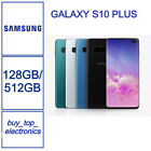 New Samsung Galaxy S10 Plus S10+ Smg975f 128gb Black/white/green/blue Aus Stock