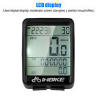 US LCD Digital Bicycle Computer Bike Backlight Speedometer Odometer Waterproof
