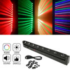 1-8Pcs 100W RGBW 4IN1 8LED Beam Moving Head Stage Light Strobe DMX512 9CH Party