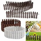 Wood Garden Border Fence Pricket Fencing Edging Pool Fence Posts Panels Outdoor