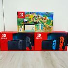 Nintendo Switch Console: Neon Red/Blue - Gray - Animal Crossing Ships Now⭐️🚀‼