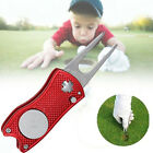 Foldable Golf Divot Tool Golf Ball Tool Pitch Groove Cleaner Golf Training Aids~