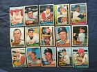 1965 TOPPS BASEBALL HIGH SERIES 446-520 PICK CARDS YOU WANT