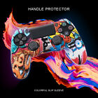 For PS4/Slim/Pro Controller Camouflage Silicone Rubber Skin Grip Cover Case