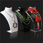 Three Colors 20*13.5*7.5CM Mannequin Necklace Jewelry Pendant Display Stand Hold