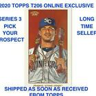 2020 Topps T206 Online Exclusive Series 3 (1-50) BASE PRESELL PICK PROSPECT RC