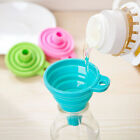 Silicone Folding Funnel Hopper Kitchen Collapsible Food Grade Folding Funnel