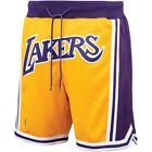 Just Don x Mitchell & Ness LEBRON JAMES 1996-97 YELLOW GOLD Shorts