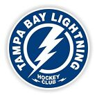 Tampa Bay Lightning Round Sticker Hockey Die cut Logo Vinyl Car Truck Wall Decal $6.48 USD on eBay