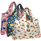 Wrapables Large Foldable Tote Nylon Reusable Grocery Bag, 3 Pack