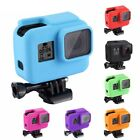 PULUZ For Go Pro Accessories Housing Cover Solf Silicone Protective Case wi...