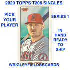 2020 Topps T206 Online Exclusive Series 1 (1-50) BASE PICK PLAYERS TROUT LUX on Ebay