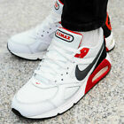 Nike Mens Air Max Ivo White/Habanero Red/Black/Dark Grey Trainers Shoes