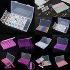 12/28/56 Slots Storage Boxes Nail Art Tools Jewelry Beads Case Organizer Holder