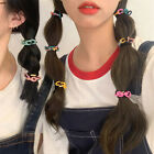 Girls Candy Colors Elastic Chain Hairrope Rubber Band Ponytail Hair Accessories