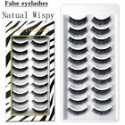 Eye Makeup Tools Lash Extension Natural Long 3D Mink Lash False Eyelashes