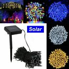 100-500 LED Solar/Battery Powered String Lights Fairy Lamp Outdoor Garden Party