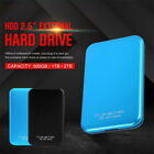 """Portable 2TB USB 3.0 External Mobile Hard Drive for PC Laptop 2.5"""" HDD"""