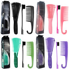 Detangling Brush for Curly Hair African American Natural hair Styling Comb Tools