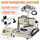 USB 3/4/5 axis 6040Z CNC Router Engraver 3D Metal Drilling Machine Cutting 1.5KW