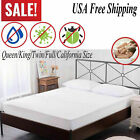 Mattress Cover Protector Waterproof Pad All Sizes Bed Hypoallergenic Vinyl USA image