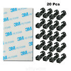 20 x Cable Clips Management Holder Cord Wire Line Organizer Self-Adhesive New US