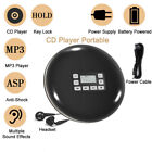 HOTT CD611T Portable CD Player LCD Anti-Shock Music Car Walkman