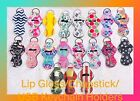 Lip Gloss/chapstick/usb Keychain Holder
