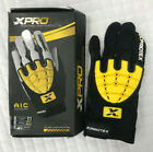 Xprotex Strykr Batting Gloves Youth Sizes - Black - (Left Handed In-Mit)
