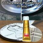 3pcs Ultimate Metal Polish  Cream