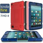 'For Amazon Kindle Fire 7 Hd 8 Kids Shockproof Silicone Tablet Case Cover Gift Uk