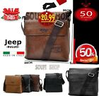 Borsello tracolla borsa uomo Jeep Buluo Casual Men Pu leather Bag