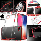 For iPhone 6s Slim Case Cover Shock Proof Crystal ClearSilicone Gel Bumper UK