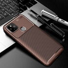 For Google Pixel 4A 4 XL Slim Shockproof Carbon Fiber Silicone TPU Cover Case