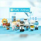 Mr. White Cloud Mini Series 5 Fluffy Airlines Edition by Fluffy House x POP MART