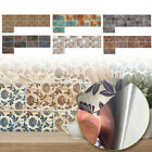 Mosaic Tile Wall Stickers Kitchen Bathroom Wall Decal Home Decor Self Adhesive