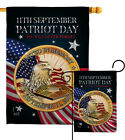 Patriot Day 911 Garden Flag Armed Forces Service Decorative Yard House Banner